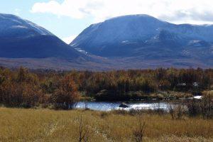 Nordre Mistra renner ved foten av Sølenmassivet