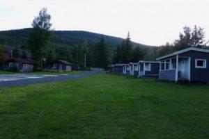 Trya Camping ved Glomma i Stor Elvdal