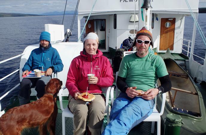 42 vaffel på båten