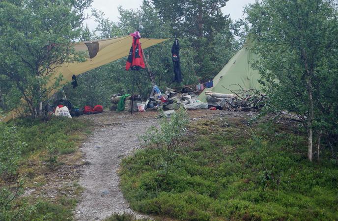 5 basecamp ved Grøtåa