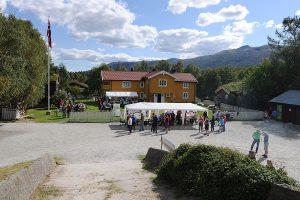 Camping. Foto Langodden gård