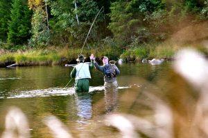 Fornøyde fiskere