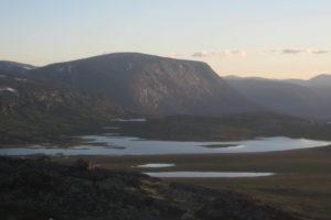 Villmarksfiske på Lønset, Dindalen. Foto: Odd Roald Uv