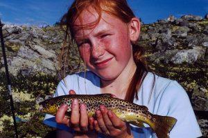 Ørretfangst fra Tynset felles fiskeområde.