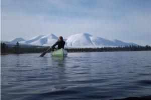 Kanotur i Sølensjøens spektakulære omgivelser