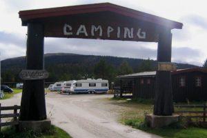 Sølenstua Camping ved Femundselva i Engerdal.